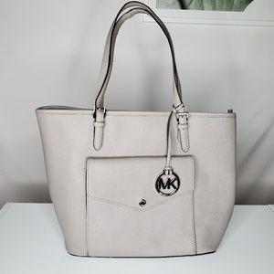 Michael Kors Silver Tote Bag Career Weekender